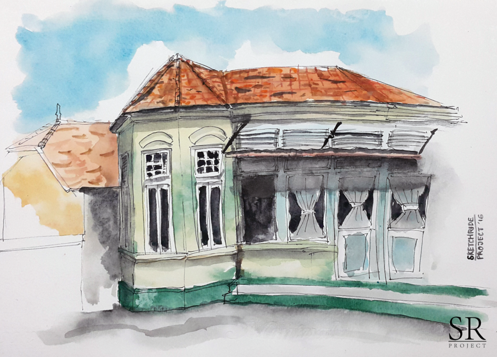 Dutch Colonial House